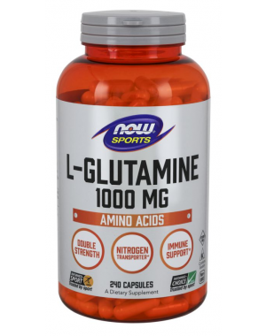 Glutamina 1000mg  240 vcaps NOW Foods