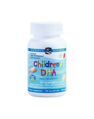 Children's DHA 250 mg Omega 3 90 caps NORDIC Naturals