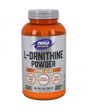 L Ornithine Powder em pó 227g NOW Foods