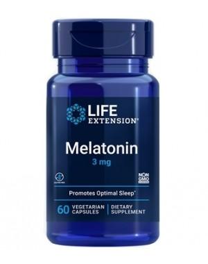 Melatonina 3mg 60 caps LIFE Extension