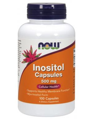 Inositol 500mg 100 veg caps NOW foods