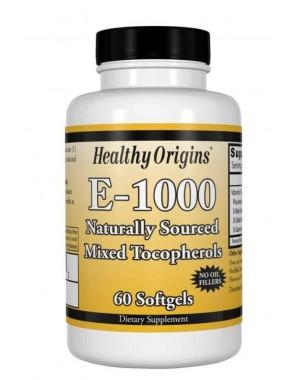 Vitamina E 1000 60 softgels HEALTHY Origins