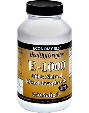 Vitamina E1000 240 softgels HEALTHY Origins