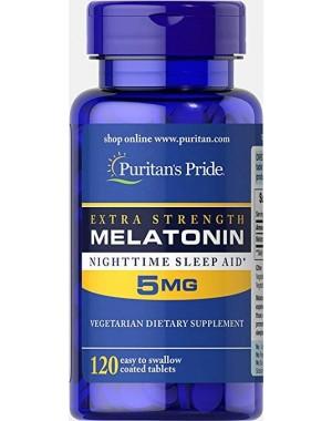 Melatonina 5mg 120 tablets PURITANS Pride