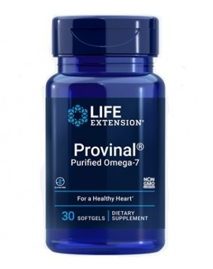 Provinal Purified Omega 7 30 softgels LIFE Extension