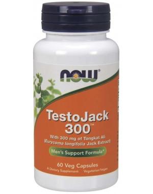TestoJack 300 60 Veg Capsules NOW Foods