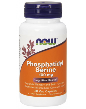 Phosphatidyl Serine 100 mg 60 Veg Capsules NOW Foods