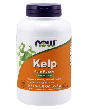 Kelp Powder Organic 227 g NOW Foods