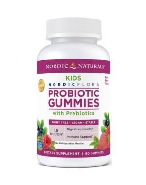 Probiotico gummies KIDS 60 Gomas  NORDIC Naturals
