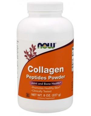 Colageno Peptides Powder pó 8oz 227g NOW Foods