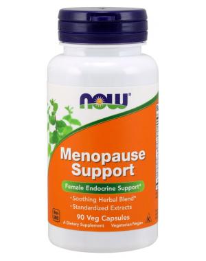 Menopausa Support Veg Capsules  90 caps NOW Foods