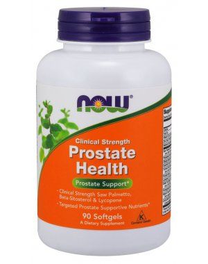 Prostate Health prostata Clinical Strength 90 softgels NOW Foods