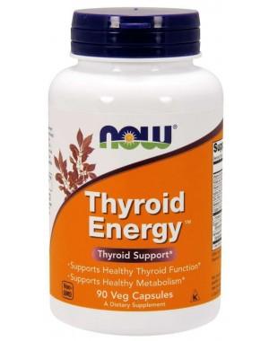 Thyroid Energy 90 veg capsules NOW Foods
