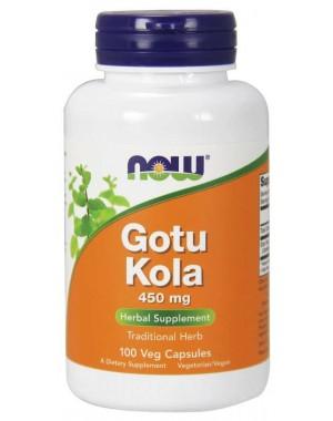 Gotu Kola 450 mg 100 Veg Capsules NOW Foods