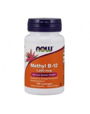 Metil B12 1000mcg 100 lozenges NOW Foods