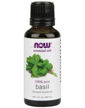Óleo essencial de Basil Manjericão 1oz 30ml NOW Foods