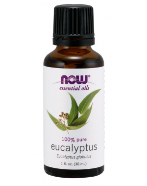 Óleo essencial de Eucaliptus Eucalipto 1oz 30ml NOW Foods