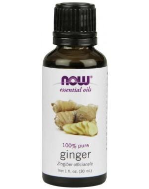 Óleo essencial de Ginger gengibre 1oz 30ml NOW Foods