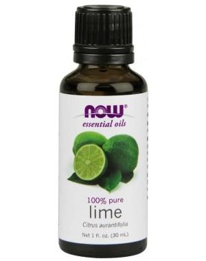 Óleo essencial de Limão Lime 1oz 30ml NOW Foods
