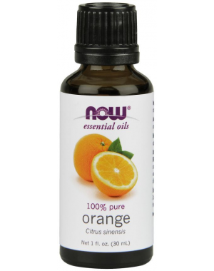 Óleo essencial de Orange laranja 30ml 1oz 100% Puro NOW Foods
