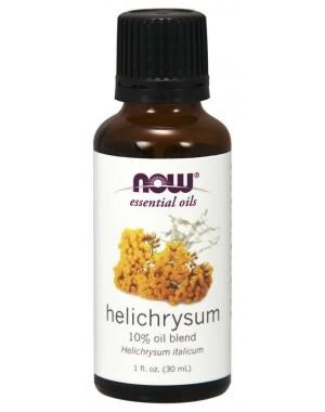 Óleo essencial blend de Helichrysum 10% 1oz 30ml NOW Foods
