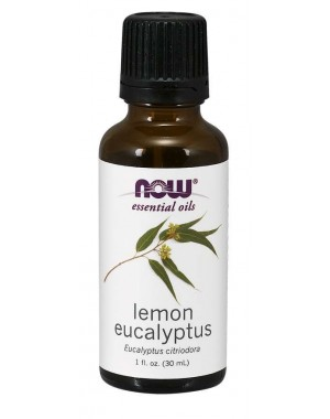 Óleo essencial Lemon Eucalyptus limão eucalipto 1oz 30ml NOW Foods