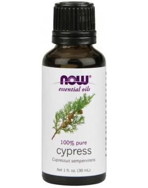 Óleo essencial de Cypress cipreste 1oz 30ml NOW Foods