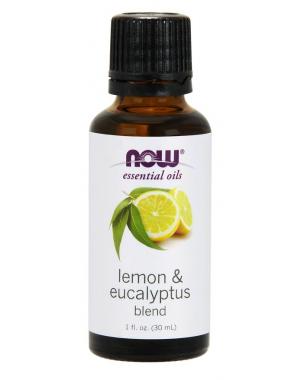 Óleo Blend Limão e Eucalipto 1oz 30ml Now Foods