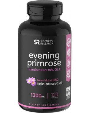 Evening Primrose Oil 120 Caps SPORTS Research