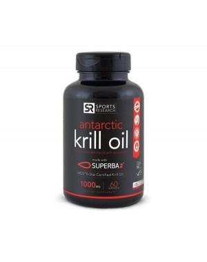 Krill Oil  Antarctic 1000mg  60 caps SPORTS Research