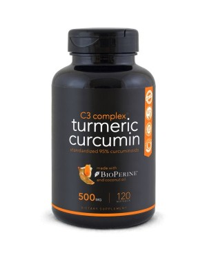 Turmeric Curcumin C3 Complex 500mg 120 softgel SPORTS Research