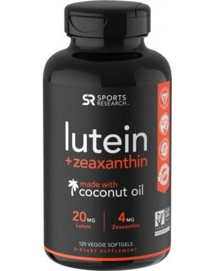 Luteina e Zeaxanthin 120 Veggie Softgels SPORTS Research