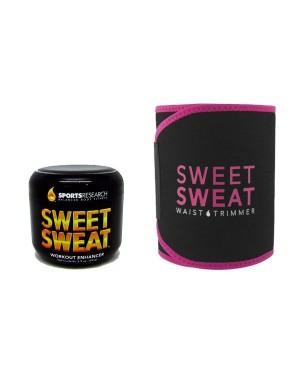 Sweet Sweat (99g) + Cinta de Noprene PINK - Edição Limitada