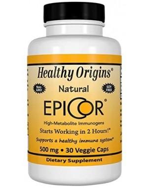 Epicor Proteção Imunológica 500mg 30vcaps HEALTHY Origins