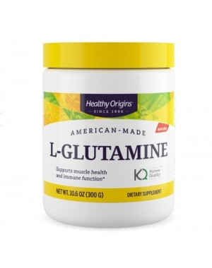 Glutamina L glutamine 300g HEALTHY Origins