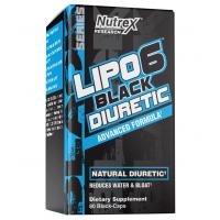 Lipo 6 DIURETIC 80 black caps NUTREX
