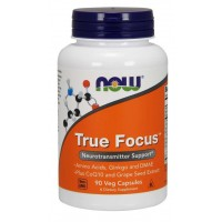 True Focus Verdadeiro foco 90 Veg Capsules NOW Foods