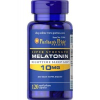Melatonina 10mg 120 capsulas PURITANS Pride