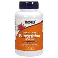 Pantethine 600 mg 60 Softgels NOW Foods