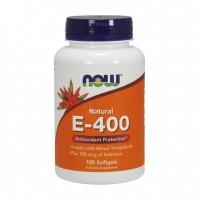 Vitamina E400 IU 100 Softgels NOW Foods
