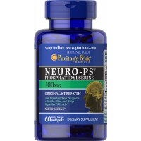Neuro PS Phosphatidylserine 100 mg 60 softgels PURITANS Pride