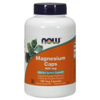 Magnesio Magnesium Caps 400 mg 180 veg Capsules NOW Foods