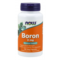Boron 3 mg 100 Veg Capsules NOW Foods