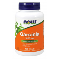 Garcinia 1000 mg  120 Tablets NOW Foods