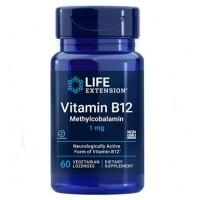 Methylcobalamin metilcobalamina B12 60 lozenges LIFE Extension