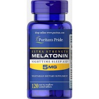 Melatonina 5mg 120 tablets PURITANS Pride
