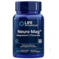 Neuro Mag L Threonate de magnésio 90 vegetarian capsules LIFE Extension