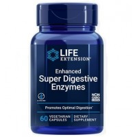 Super Digestive Enzymes 60 Veg Capsules LIFE Extension