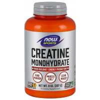 Creatina Monohydrate Powder Pure  227g NOW Foods FRETE GRATIS