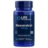 Resveratrol 100 mg 60 capsules LIFE Extension